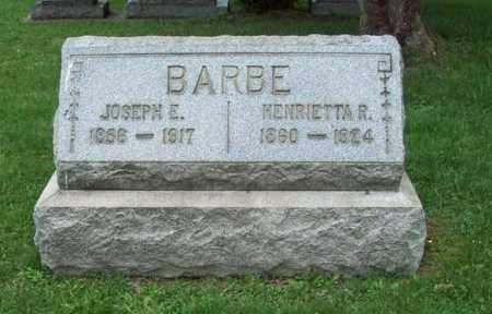 BARBE, HENRIETTA R. - Trumbull County, Ohio   HENRIETTA R. BARBE - Ohio Gravestone Photos