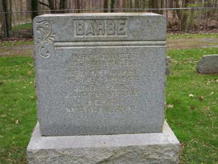 BARBE, OLIVER - Trumbull County, Ohio | OLIVER BARBE - Ohio Gravestone Photos