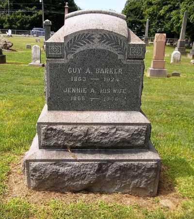 BARKER, GUY A. - Trumbull County, Ohio | GUY A. BARKER - Ohio Gravestone Photos