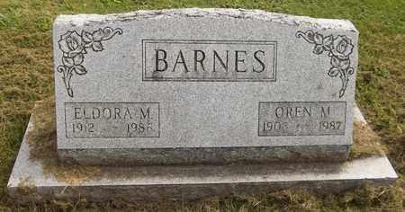 BARNES, OREN M., JR. - Trumbull County, Ohio | OREN M., JR. BARNES - Ohio Gravestone Photos
