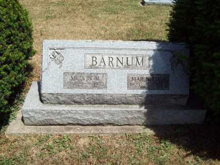 BARNUM, MELVIN - Trumbull County, Ohio | MELVIN BARNUM - Ohio Gravestone Photos