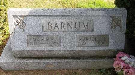 BARNUM, MELVIN M. - Trumbull County, Ohio | MELVIN M. BARNUM - Ohio Gravestone Photos