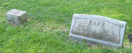 BARR, ROSE E. - Trumbull County, Ohio | ROSE E. BARR - Ohio Gravestone Photos