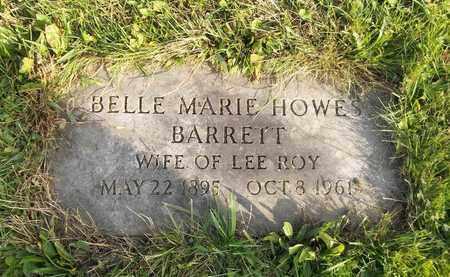 HOWES BARRETT, BELLE MARIE - Trumbull County, Ohio | BELLE MARIE HOWES BARRETT - Ohio Gravestone Photos