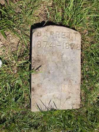 BARRETT, MYRON A. - Trumbull County, Ohio   MYRON A. BARRETT - Ohio Gravestone Photos