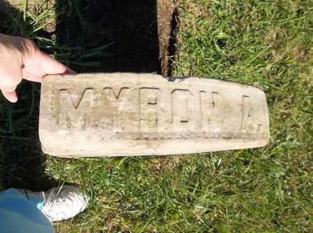 BARRETT, MYRON A. - Trumbull County, Ohio | MYRON A. BARRETT - Ohio Gravestone Photos