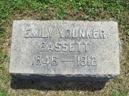 YOUNKER BASSETT, EMILY - Trumbull County, Ohio | EMILY YOUNKER BASSETT - Ohio Gravestone Photos