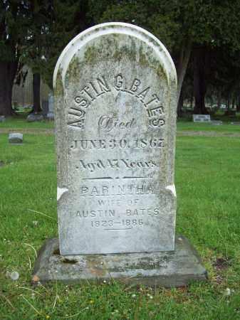 BATES, PARINTHA - Trumbull County, Ohio | PARINTHA BATES - Ohio Gravestone Photos