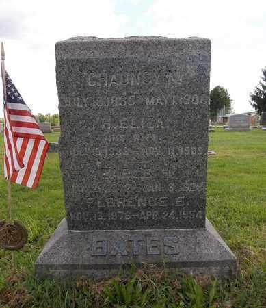 BATES, H. ELIZA - Trumbull County, Ohio | H. ELIZA BATES - Ohio Gravestone Photos