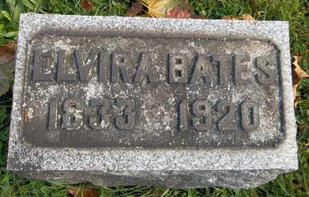 BATES, ELVIRA - Trumbull County, Ohio | ELVIRA BATES - Ohio Gravestone Photos