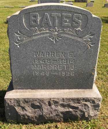 BATES, WARREN E. - Trumbull County, Ohio | WARREN E. BATES - Ohio Gravestone Photos