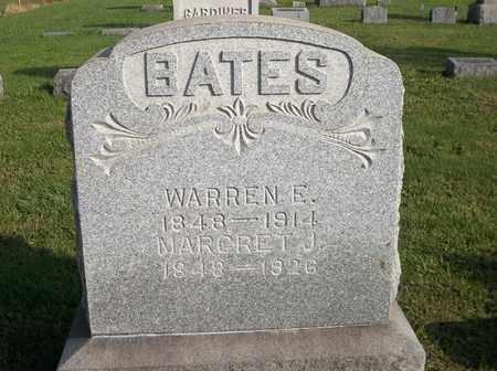 BATES, MARGRET J. - Trumbull County, Ohio | MARGRET J. BATES - Ohio Gravestone Photos