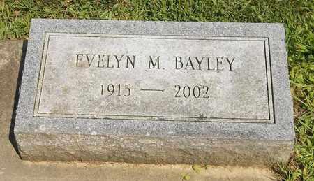 BAYLEY, EVELYN M. - Trumbull County, Ohio   EVELYN M. BAYLEY - Ohio Gravestone Photos