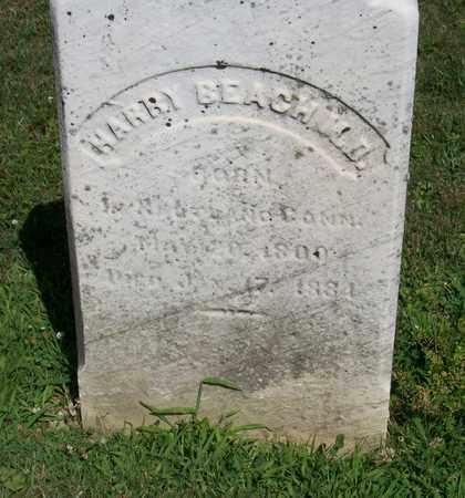 BEACH, HARRY - Trumbull County, Ohio | HARRY BEACH - Ohio Gravestone Photos