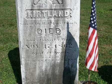 BEACH, KIRTLAND - Trumbull County, Ohio | KIRTLAND BEACH - Ohio Gravestone Photos