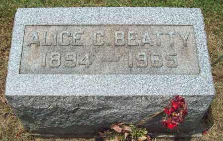 BEATTY, ALICE C. - Trumbull County, Ohio | ALICE C. BEATTY - Ohio Gravestone Photos