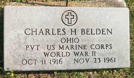 BELDEN, CHARLES H. - Trumbull County, Ohio | CHARLES H. BELDEN - Ohio Gravestone Photos