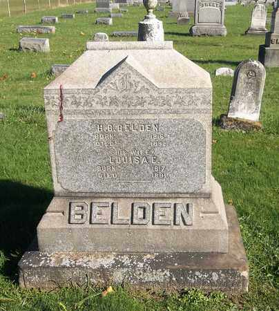 BELDEN, HENRY BRUCE - Trumbull County, Ohio | HENRY BRUCE BELDEN - Ohio Gravestone Photos