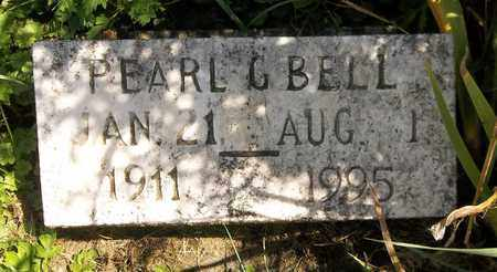BELL, PEARL G. - Trumbull County, Ohio | PEARL G. BELL - Ohio Gravestone Photos