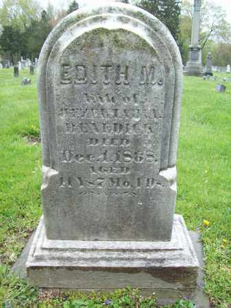 BENEDICK, EDITH M. - Trumbull County, Ohio | EDITH M. BENEDICK - Ohio Gravestone Photos