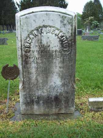 BENEDICT, OSCAR F. - Trumbull County, Ohio | OSCAR F. BENEDICT - Ohio Gravestone Photos