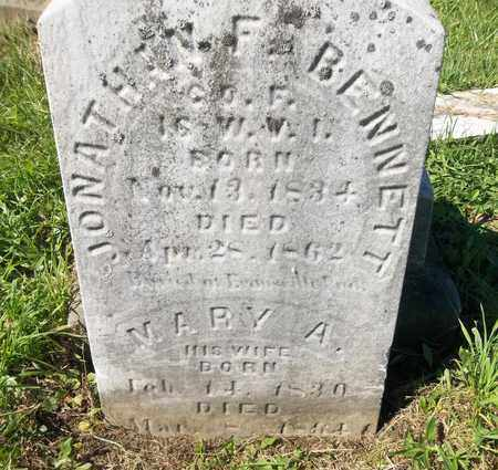 BENNETT, MARY A. - Trumbull County, Ohio | MARY A. BENNETT - Ohio Gravestone Photos