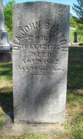 BENTON, JOHN, DEACON - Trumbull County, Ohio | JOHN, DEACON BENTON - Ohio Gravestone Photos