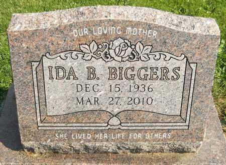 BIGGERS, IDA B. - Trumbull County, Ohio | IDA B. BIGGERS - Ohio Gravestone Photos