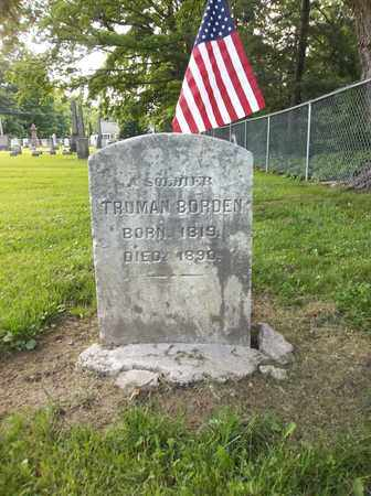 BORDEN, TRUMAN - Trumbull County, Ohio | TRUMAN BORDEN - Ohio Gravestone Photos