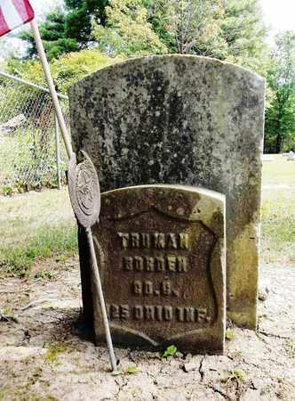 BORDEN, TRUMAN - Trumbull County, Ohio   TRUMAN BORDEN - Ohio Gravestone Photos