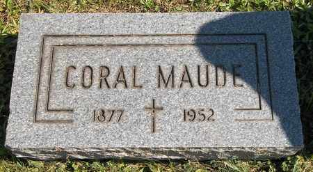 BOWER, CORAL MAUDE - Trumbull County, Ohio | CORAL MAUDE BOWER - Ohio Gravestone Photos