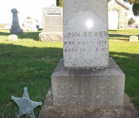 BOWER, JOHN - Trumbull County, Ohio   JOHN BOWER - Ohio Gravestone Photos