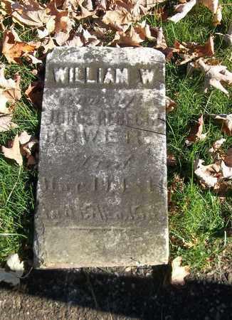 BOWER, WILLIAM W. - Trumbull County, Ohio   WILLIAM W. BOWER - Ohio Gravestone Photos