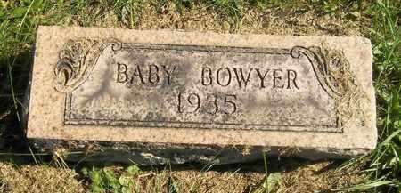 BOWYER, BABY - Trumbull County, Ohio | BABY BOWYER - Ohio Gravestone Photos