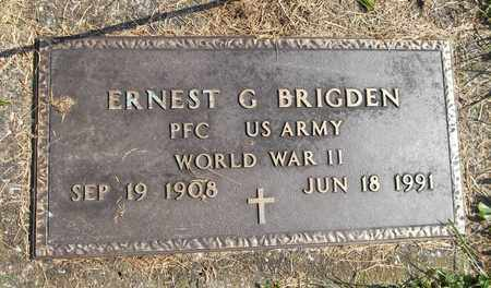 BRIGDEN, ERNEST G. - Trumbull County, Ohio | ERNEST G. BRIGDEN - Ohio Gravestone Photos