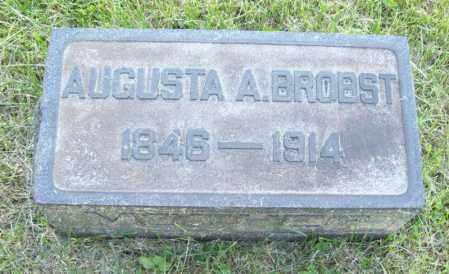 MILLER BROBST, AUGUSTA ATALINE - Trumbull County, Ohio | AUGUSTA ATALINE MILLER BROBST - Ohio Gravestone Photos