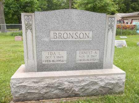 BRONSON, IDA L. - Trumbull County, Ohio | IDA L. BRONSON - Ohio Gravestone Photos