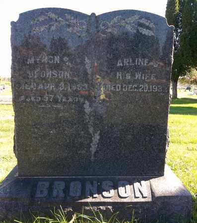BRONSON, MYRON S. - Trumbull County, Ohio | MYRON S. BRONSON - Ohio Gravestone Photos
