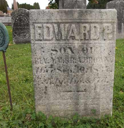 BROWN, EDWARD P. - Trumbull County, Ohio | EDWARD P. BROWN - Ohio Gravestone Photos