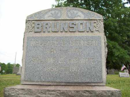 BRUNSON, WALLACE E. - Trumbull County, Ohio | WALLACE E. BRUNSON - Ohio Gravestone Photos