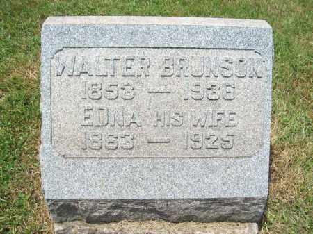 CURTISS BRUNSON, EDNA MAY - Trumbull County, Ohio | EDNA MAY CURTISS BRUNSON - Ohio Gravestone Photos