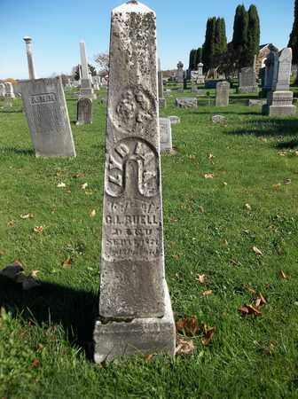 BUELL, LYDIA A. - Trumbull County, Ohio   LYDIA A. BUELL - Ohio Gravestone Photos