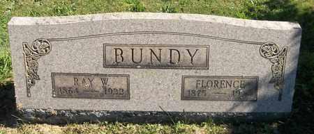 BUNDY, FLORENCE ESTELLE - Trumbull County, Ohio | FLORENCE ESTELLE BUNDY - Ohio Gravestone Photos