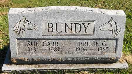 CARR BUNDY, SUE - Trumbull County, Ohio | SUE CARR BUNDY - Ohio Gravestone Photos