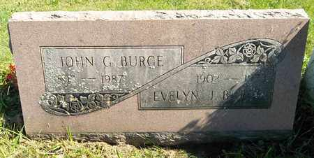 BURGE, EVELYN J. - Trumbull County, Ohio | EVELYN J. BURGE - Ohio Gravestone Photos