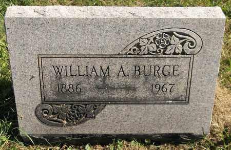 BURGE, WILLIAM A. - Trumbull County, Ohio | WILLIAM A. BURGE - Ohio Gravestone Photos