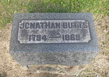BUTTS, JONATHAN - Trumbull County, Ohio   JONATHAN BUTTS - Ohio Gravestone Photos