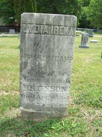 CAMP, LYDIA IRENA - Trumbull County, Ohio | LYDIA IRENA CAMP - Ohio Gravestone Photos