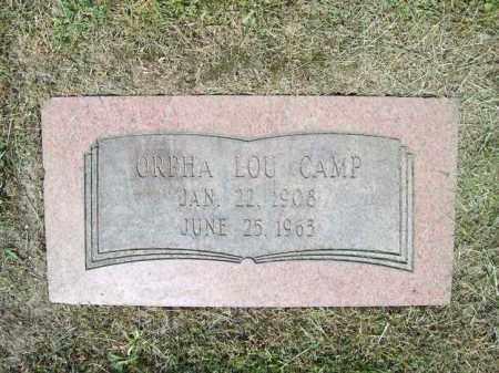 CAMP, ORPHA LOU - Trumbull County, Ohio   ORPHA LOU CAMP - Ohio Gravestone Photos