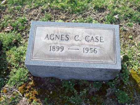 CASE, AGNES - Trumbull County, Ohio   AGNES CASE - Ohio Gravestone Photos
